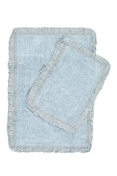 İrya Hera Mavi Banyo Paspası 60*90-40*60 Mavi